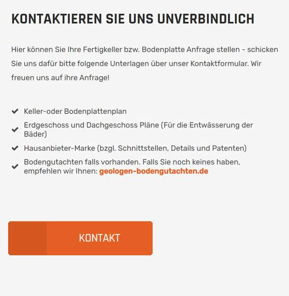 Fertigkeller Firma für  Deutschland