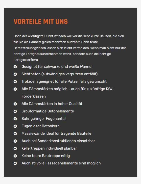 Fertigkellerfirma in  Deutschland - Baden-Württemberg, Bayern, Berlin, Brandenburg, Bremen, Hamburg, Hessen, Mecklenburg-Vorpommern, Niedersachsen, Nordrhein-Westfalen, Rheinland-Pfalz oder Saarland, Sachsen, Sachsen-Anhalt, Schleswig-Holstein, Thüringen