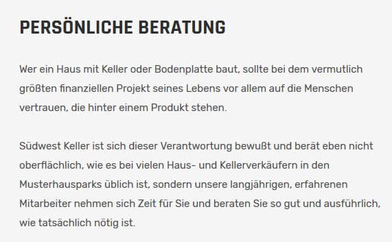 Keller Bodenplatte in  Deutschland